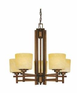 Dolan Designs 2810-133 Roxbury 5 Light Chandelier, English Bronze Dolan Designs Bronze Ceiling Lighting