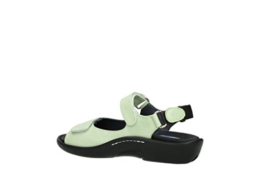 Pichu Wolky Lime Women's Leather 30750 5qA8wS