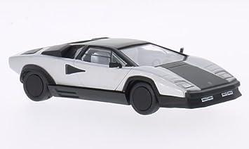 1//43 Scale DieCast Model Car Lamborghini Countach Evoluzione 1987 NEW