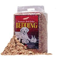 NORTHEASTERN PRODUCTS 216010 Red Cedar Bedding Economy for Pets, 5.0 cu ft (2.0  cu. ft. compressed) Aromatic Red Cedar