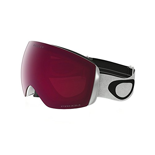 Oakley Oo7064-02 Flight Deck Xm Eyewear, Matte White, Prizm Rose Lens