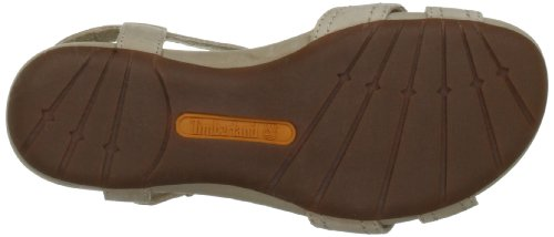 Timberland - Sandalias de cuero para mujer Crudo