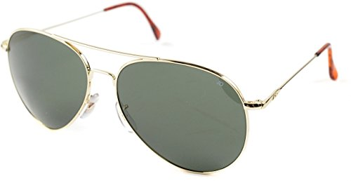 AO Eyewear General Sunglasses 58mm Green Non-Polarized Optical Glass Lenses