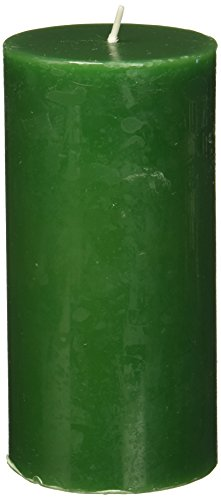 Zest Candle - Zest Candle Pillar Candle, 3 by 6-Inch, Hunter Green
