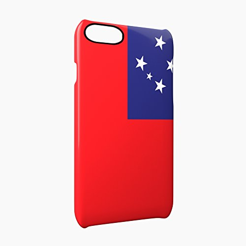 Flag of Samoa Glossy Hard Snap-On Protective iPhone 7 Plus + Case Cover