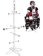 Wet Gear-Hockey Equipment Dryer Rack: Metal Model