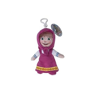 10cm Masha et le clip Ours Le Peluche - MASHA - Sac Clip / porte-clés