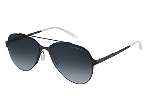 - Carrera Men's Ca113s 0003 Aviator Sunglasses, MATTE BLACK/GRAY GRADIENT, 57 mm