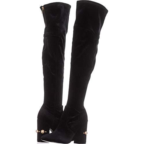 Ivanka Trump Womens Tamir Closed Toe Knee High Fashion Boots, Black, Size 7.0
