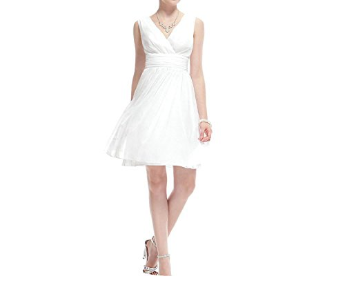 Dresses Black for Party A Line Cute Girls Party Gowns Robe Courte mezuniyet elbiseleri,White,12