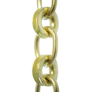RCH Hardware CH-20L-AD Brass Chandelier Chain Acid Dipped