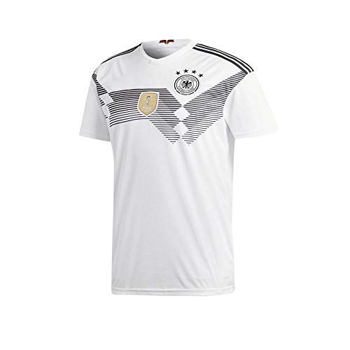 28ad0663898 Germany Jersey Mens 2018 Russia World Cup Adult National Team Home Soccer  Jerseys White (Medium)
