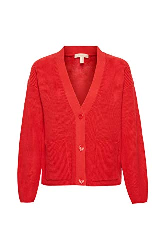 610 Red dark Cardigan Rot Esprit Donna 87YzqWC