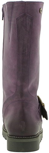 Leather Calf Mid Oak Hyde Coast Womens Boots Purple amp; TWqn4vnY