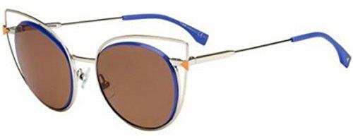 Fendi FF 0176/S 3YG/UT Light/ Dark Brown Sunglasses