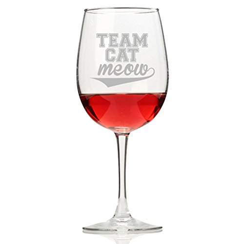 Cat Meow Wine Glass