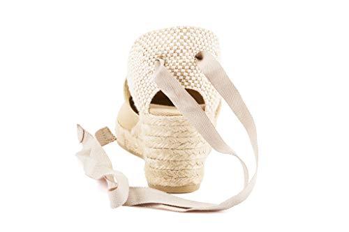 In Espadrilles tie Made Viscata Heel Classic Soft 5