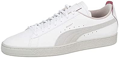 Puma Erkek Sf Basket Ls Spor Ayakkabı, Beyaz, 41
