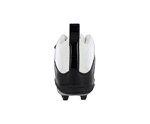 Reebok Pro All Out One MID D Mens Football Shoe White Black 4KDeOJJ1OU