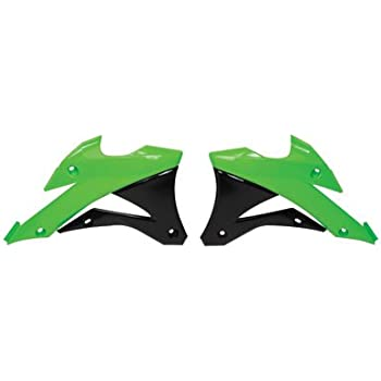 Polisport Rear Fender 2005 Green for Kawasaki KX100 2001-2009