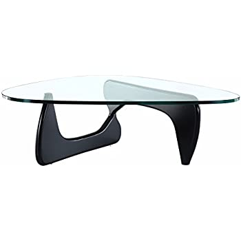 EMODERN FURNITURE EMod   Noguchi Style Coffee Table Reproduction Replica  Black
