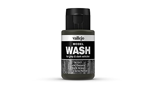 Vallejo Dark Grey Wash, 35ml (Wash Acrylic)