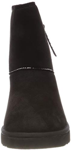 Negro Mujer black Botas Bootie Uma Zip Esprit 001 Slouch Para tFYg08wqw