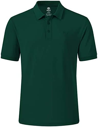 AJEZMAX MEN'S GOLF POLO SHIRT QUICK DRY SPORT TOP FITNESS TEE SHORT SLEEVE