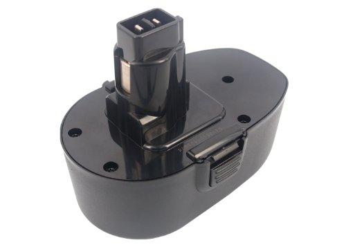 Cameron Sino – Batteria 2100 mAh 37.8wh compatibile con nero & Decker KC1882FK, KC1882 F, KC1882CN, KC1882 C, CD18CBK, CD18CE CD18CAB, CD18CA, e altri
