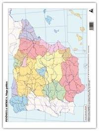 PACK 50 MAPAS ESPAÑA POLITICO MUDOS: Amazon.es: Oficina y papelería