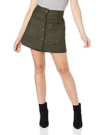 Finders Keepers Women's JADA Skort, Forest Green, Extra Small