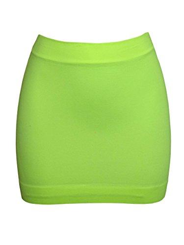 Xl Femme Fluorescent Jupe Femiss Vert qEnp5
