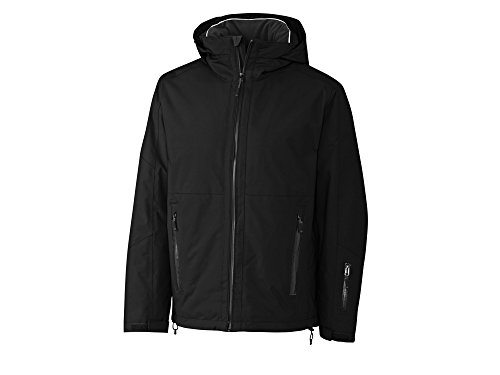 Cutter & Buck MCO09821 Men's Alpental Jacket Black ()
