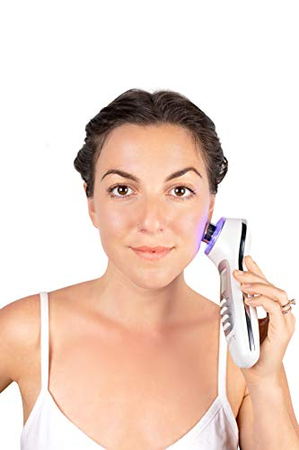 LYFT 2.0 by Nurysh. Facial Cleansing & Firming Massage Device. Galvanic & Micro-Vibration Technologies. Rejuvenate, Cleanse, Smooth Fine Lines, Tighten Skin, and Reduce Skin Irritation. by Nurysh (Image #9)