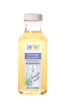 Aura Cacia Bubble Bath Relaxing Lavender, 13 oz (Relaxing Bath Bubble)