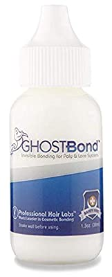 Ghost Bond Classic 1.3 oz Adhesive with Beauty 1st Brush and Contour Applicator Combo Bundle