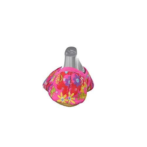 Beck Fleur 246 - Zapatillas de casa de satén, color rosa, talla Pink (pink 06)