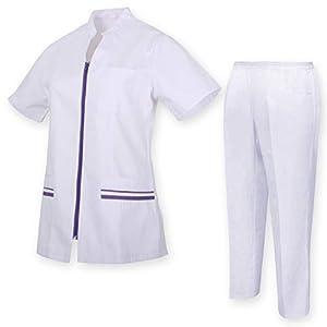 MISEMIYA - Uniformes Sanitarios, Casaca Y PANTALÓN Mujer Uniformes MEDICOS CLINICAS Estética Médico Enfermería Casaca Y PANTALÓN Ref.Q7028 9