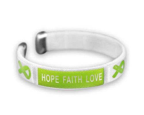 Childrens Flex Bangle Bracelet (Lymphoma Awareness Bangle Bracelet -