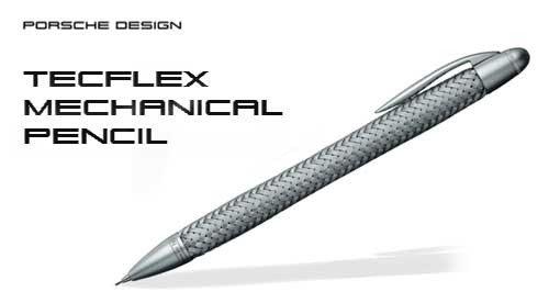 Porsche Design P3110 Tec Flex Mechanical Pencil, Silver, 1 Each (988808) by Porsche Design (Image #3)