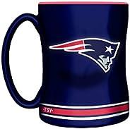 NFL New England Patriots Sculpted Mug, 14-Ounce