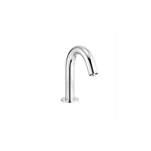 Ecopower Electronic Lavatory Faucet - Toto TEL111-D10E Helix Single Hole Bathroom Faucet with EcoPower Technology - Le, Polished Chrome