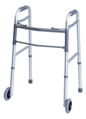 (Lumex 716370A-2 Everyday Dual Release Walker with 5