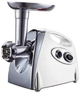 TEHWDE Picadora de Carne eléctrica Máquina de Enema Totalmente automática, licuadora, picadora, batidora Cocina ...