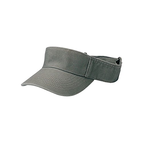 Hats & Caps Shop Pro Style Cotton Twill Washed Visor - By TheTargetBuys | (OLIVE) Pro Style Twill Visor