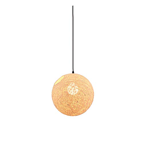 Outdoor Wicker Ball Lights in US - 8