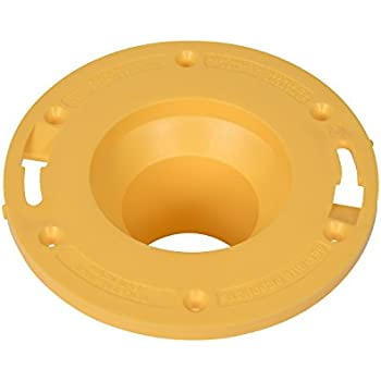 Drain Tube and Floor Garosa Toilet Seal Ring ABS Engineering Plastic Flange Ring Excellent Sealing Toilet Installation Tool Accessory for Toilet