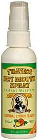 Thayers Dry Mouth Vocal Spray - Citrus 3 Pack Natural Remedy Instant Moisture Throat Spray ()
