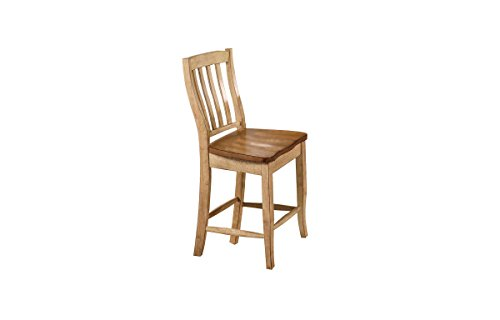 Winners Only, Inc. Quails Run 19 in. Rake Back Counter Stool - Set of 2
