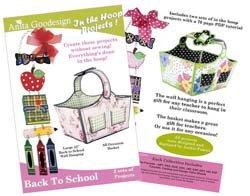 Anita Goodesign ~ Back to School ~ Embroidery Designs CD by Anita Goodesign